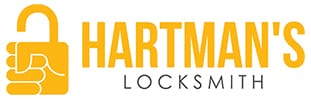 Hartman's Locksmith logo